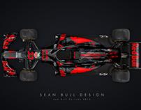 Red Bull Porsche 2018 F1 Concept