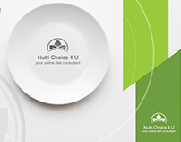 Nutri Choice 4 U Logo Design