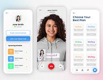 Health Care Consulting App Design