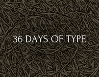 36 Days Of Type | Bramble Type