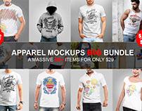 Tshirt mockup BIG bundle