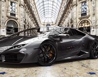 Lamborghini Huracan 580-2_Galleria Vittorio Emanuele II