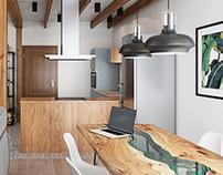 Эскизный дизайн проект загородного дома