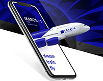 Egnatia Aviation Webdesign