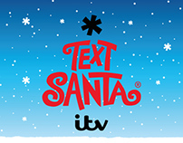 Text Santa 2013 Identity