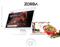 Zorba Web Site | Redesign