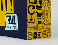 Shopping Bag and Gift Card Set Design