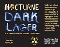 Nocturne Beer Label