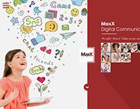 MaxX Digital Communication Website