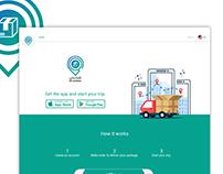 My Shipment | UI design (web)