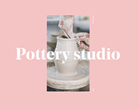 Landing page | Pottery studio