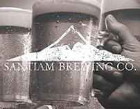 Santiam Brewing Co. Rebranding