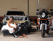 Meet the biker. Ladies edition