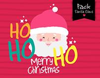 Pack Santa Claus