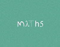 Typography (Word Play): Maths Series