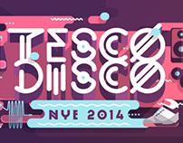 Tesco Disco NYE 2014