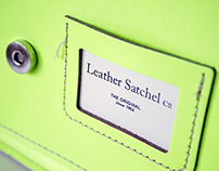 "Corporate Design Redesign ""The Leather Satchel Company"""