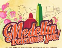 Medellín te recibe