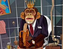 Wealthy Monkey Lifestyle