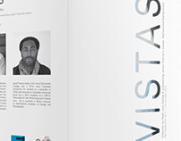 Vistas, exhibition brochure