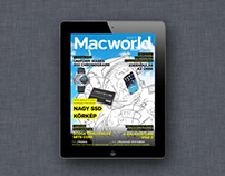 Covers for Hungarian edition of Macworld