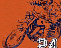 Sonoma boys tee- motorcycle racing