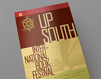 UpSouth Book Festival Event Poster/ Invite & Pamphlet
