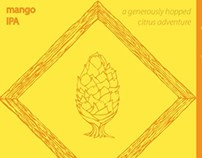 Mango IPA Label
