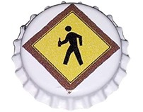 Pedestrian Brewing Bottle Cap