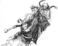 Pen & Ink - Western Drawings