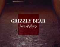 (unofficial) Grizzly Bear Album Cover