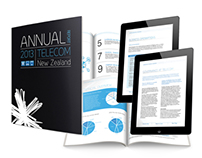 Annual General Report - Telecom NZ
