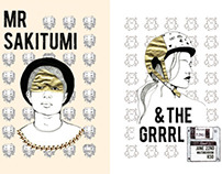 Mr Sakitumi and the Grrrl music poster
