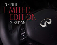 Infiniti G Limited Edition