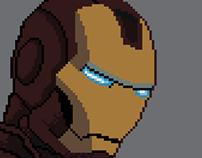 Pixel Art - Super Heroes