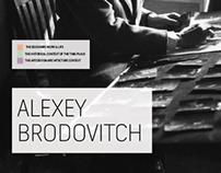 Alexey Brodovitch Timeline