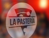 LA PASTERÍA / Italian food restaurant Branding