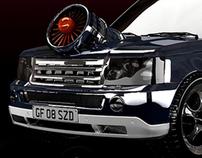 Range Rover Turbo Concept -STILL