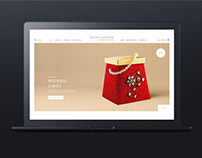 Invitation cards Website UI/UX App Design