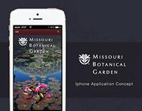 Missouri Botanical Garden - Iphone Application Concept