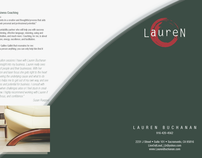 Lauren Salon Consultant Brochure