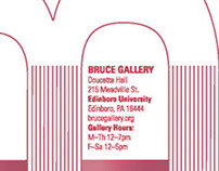 Bruce Gallery Postcards