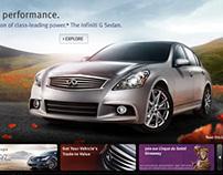 Infiniti G Sedan Homepage