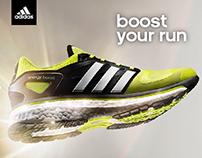 Adidas promo web site