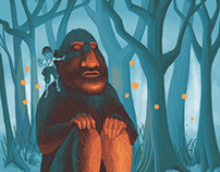 Aquila Children's Magazine Illustration