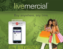 Livemercial Skyline Booth