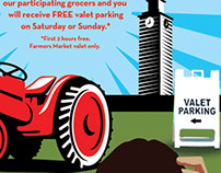 Los Angeles Farmers Market Free Valet Promotion