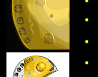 Pac Man Gold Edition