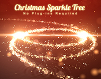 Christmas Sparkle Tree Light