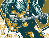 Chuck Berry Print